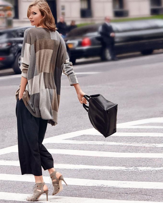 eskandar Geometric Intarsia Knit Cashmere Sweater