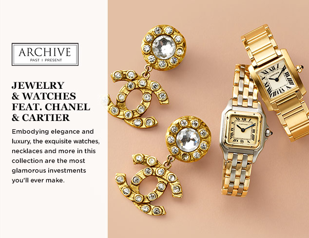 ARCHIVE: Jewelry & Watches feat. Chanel & Cartier at MYHABIT