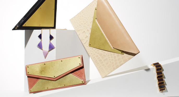 Accessories Spotlight: Modern Geometry at Gilt