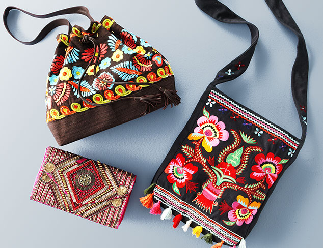 Accessory Update: Tapestry Totes & Boho Bags at MYHABIT
