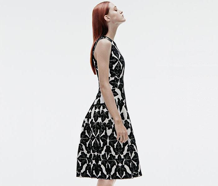 Alexander McQueen Ivy Jacquard Dress