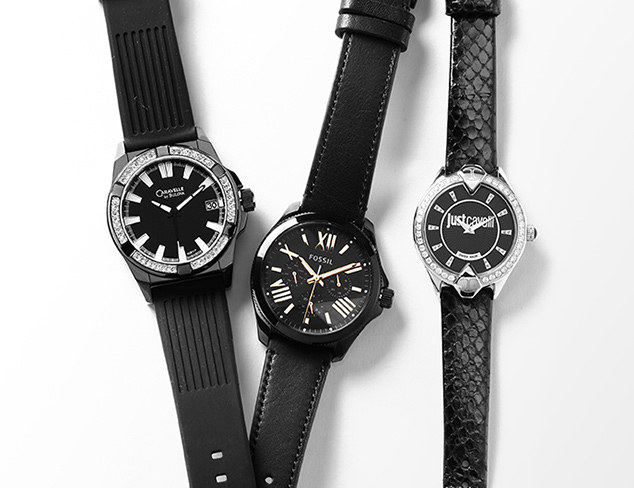 All Black, All the Time: Watches at MYHABIT
