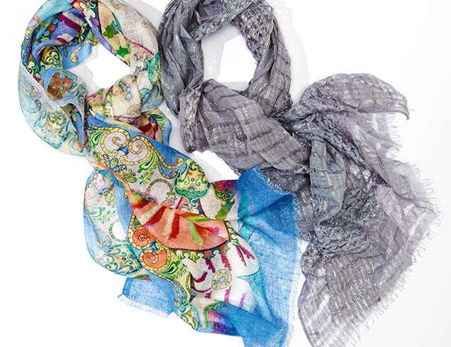 Back in Stock: Saachi Scarves at MYHABIT