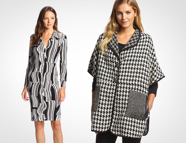 Black & White: Dresses, Tops, & More at MYHABIT