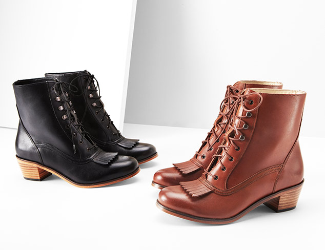 Boot Season: Lace Ups at MYHABIT
