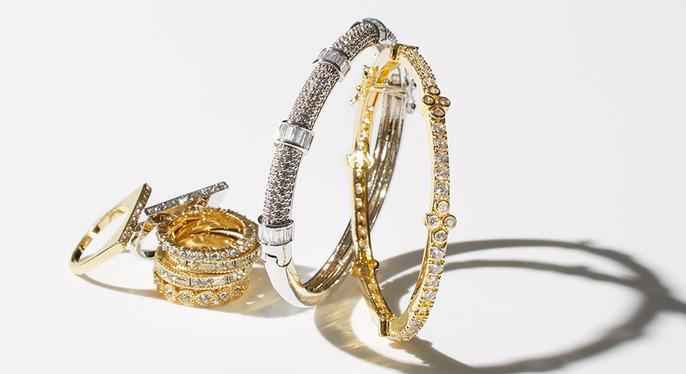 Brilliant Crystal Jewelry Feat. Gemma Crus at Gilt