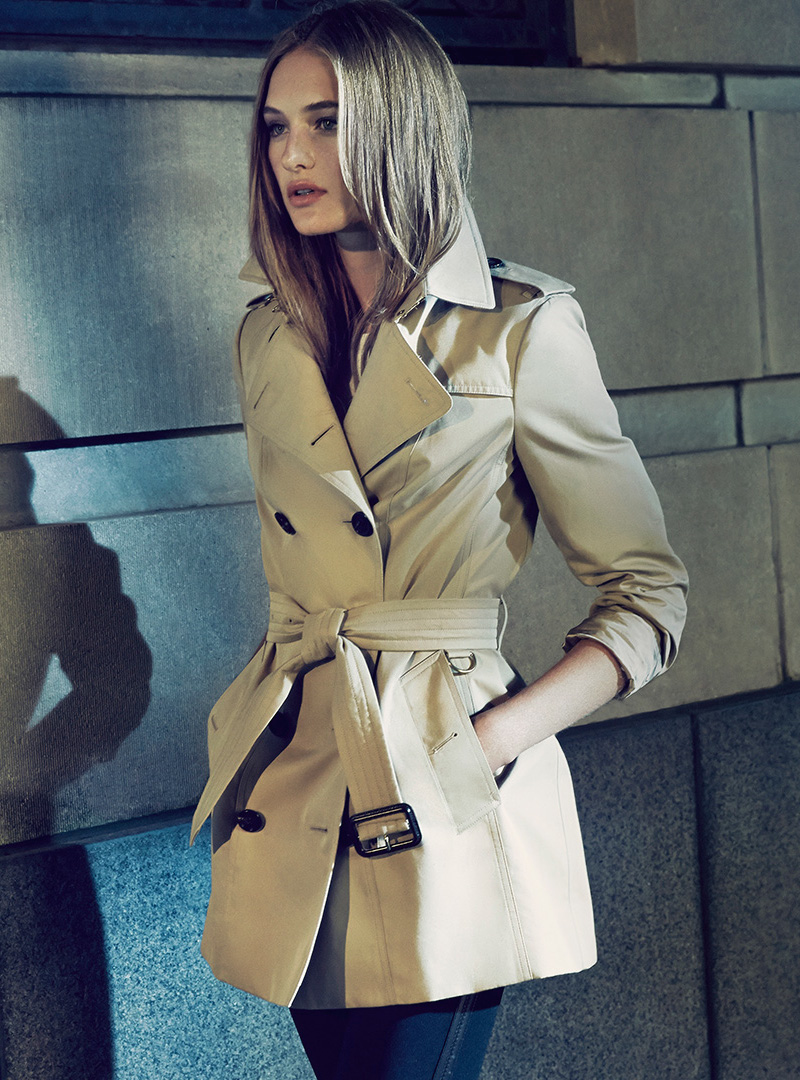 Burberry London Sandringham Short Heritage Trench