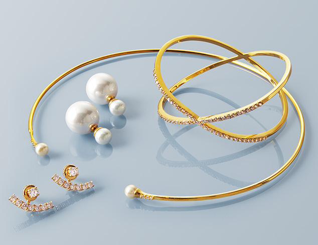 Chloe & Theodora Minimalist Jewelry at MYHABIT
