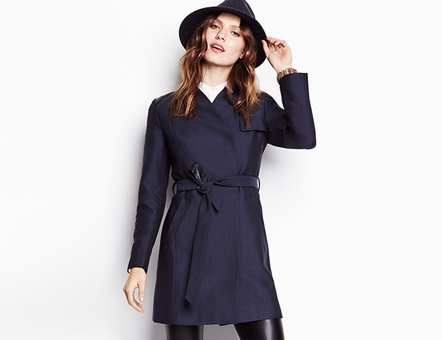 Classic Coats: Trenches, Peacoats & More at MYHABIT