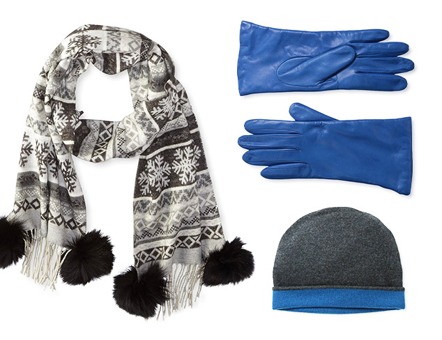 Cold Weather Accessories feat. Qi Cashmere at MYHABIT