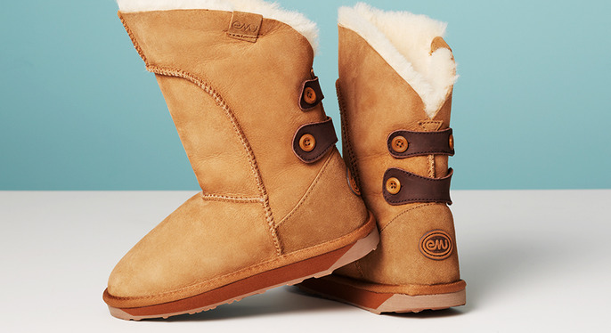 Cold-Weather Boots Feat. EMU Australia at Gilt