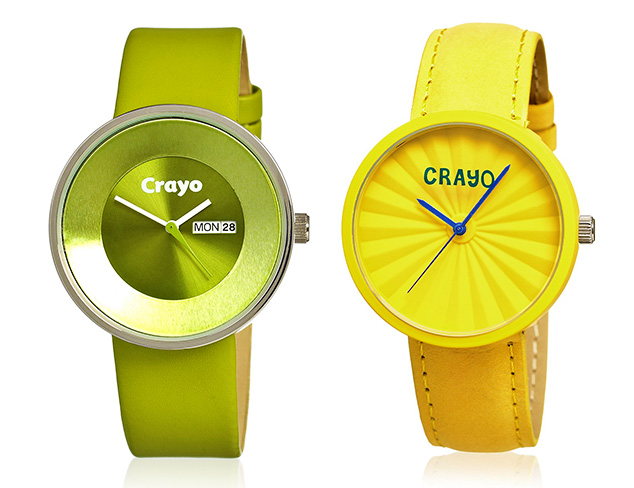 Colorful Watches feat. Crayo at MYHABIT