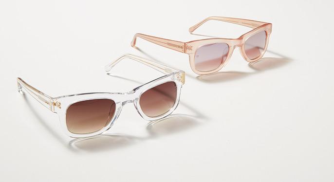 Crystal Clear: Translucent Eyewear at Gilt