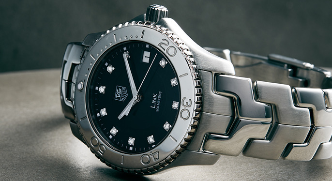 Designer Watches Feat. Tag Heuer at Gilt