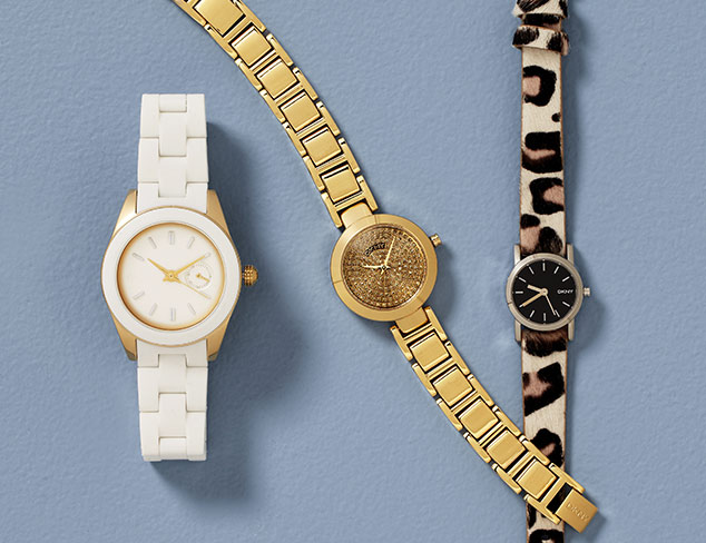 Designer Watches feat. DKNY at MYHABIT
