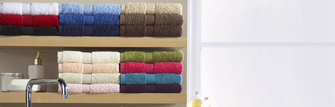 Egyptian Cotton Towels at Brandalley