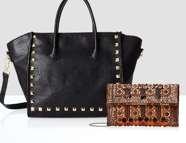 Embellished Bags: Studs, Beading & More at MYHABIT