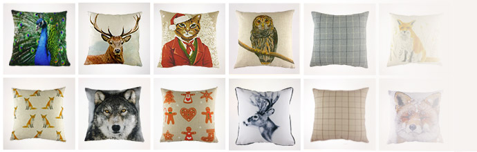Evans Lichfield Cushions at Brandalley