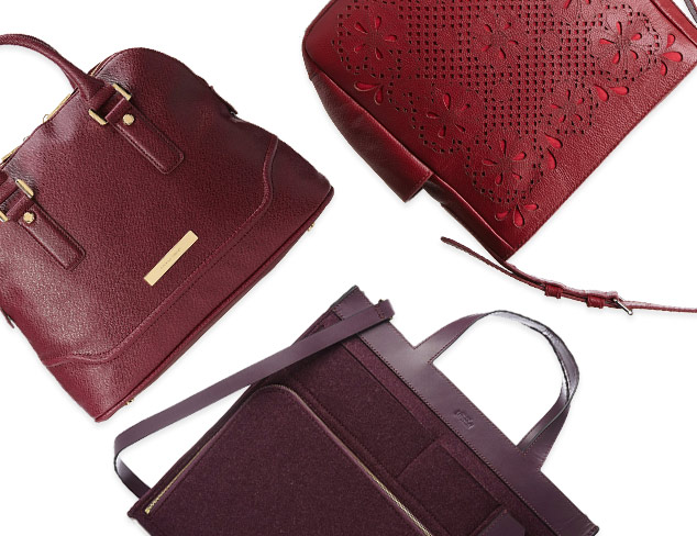 Fall Bags by Color: Bordeaux at MYHABIT