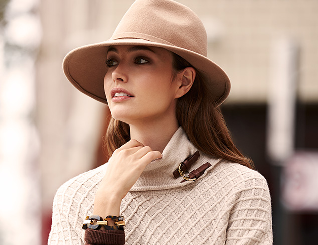 Fall Felt: Fedoras, Cloche Hats & More at MYHABIT