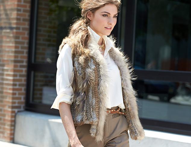 Fall Fur: Jackets & Vests at MYHABIT
