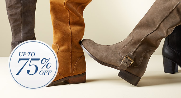 Fall Shoes: Up to 75% Off at Gilt