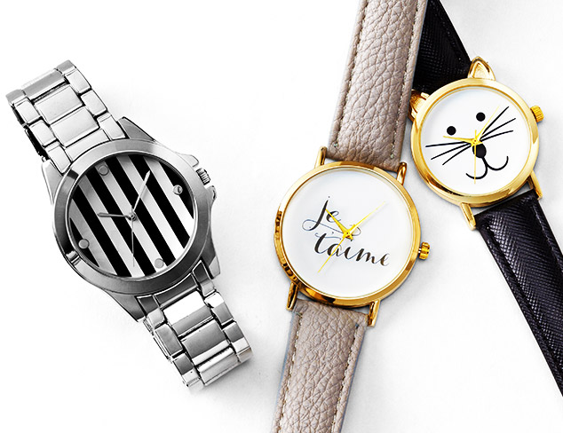 Fashion & Function: Watches at MYHABIT