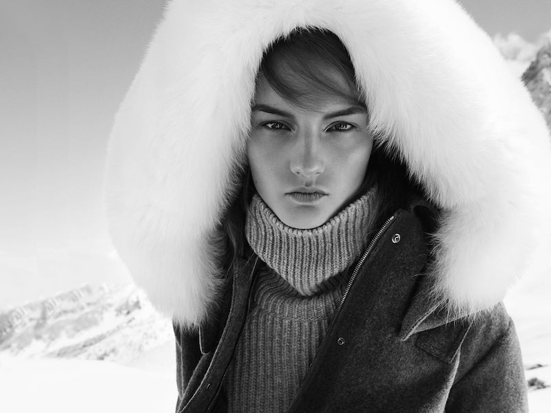 Fendi Fur-trimmed Wool Parka