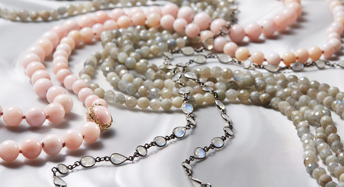 Fine Jewelry Focus: Moonstone, Opal & Labradorite at Gilt