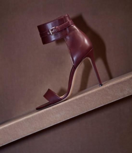 Gianvito Rossi Buckle-Cuff Sandals