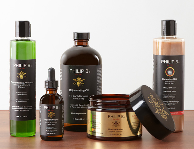 Gorgeous Locks: Haircare feat. Philip B at MYHABIT