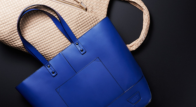 Having a Moment: Leather Shopper Totes at Gilt