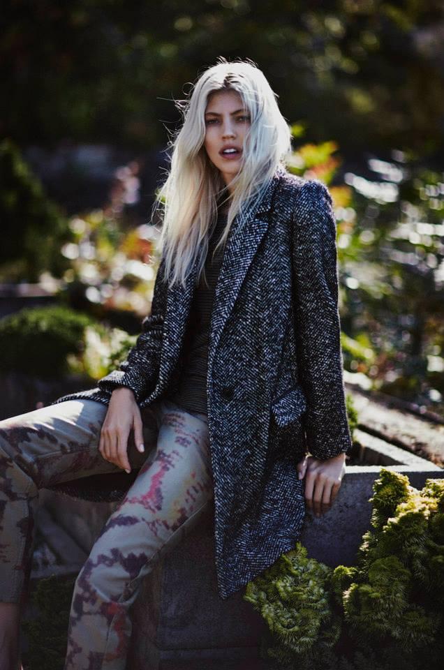 Isabel Marant Étoile Herringbone Tweed Daphne Coat