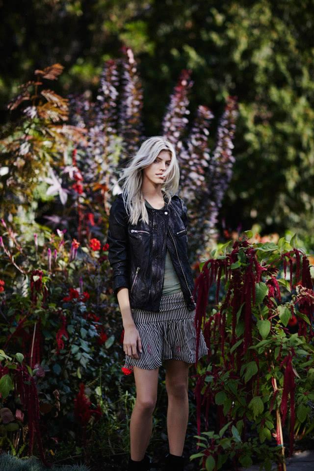 Isabel Marant Étoile Leather Bacuri Moto Jacket