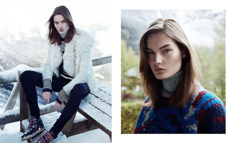 Isabel Marant Drew Shearling Jacket