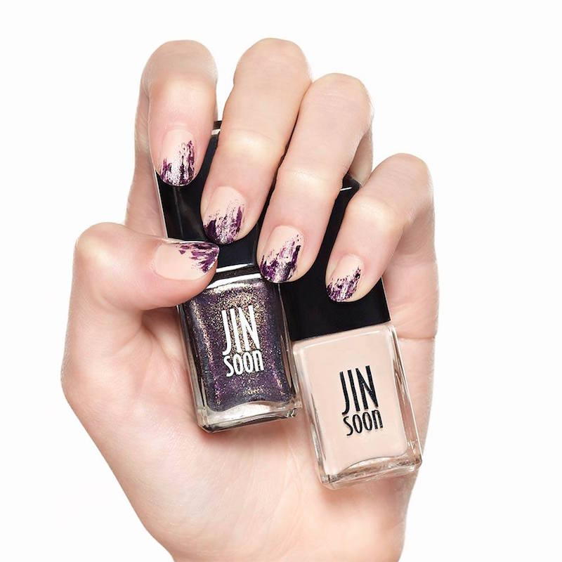 Manicure // JINsoon Obsidian & Nostalgia Nail Polish – NAWO