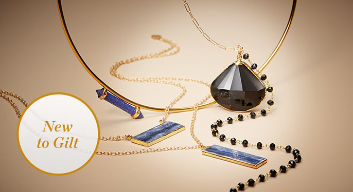 Jewelry by Heather Hawkins & Katie Diamond at Gilt