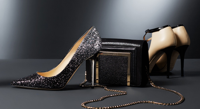 Jimmy Choo Shoes & Handbags at Gilt