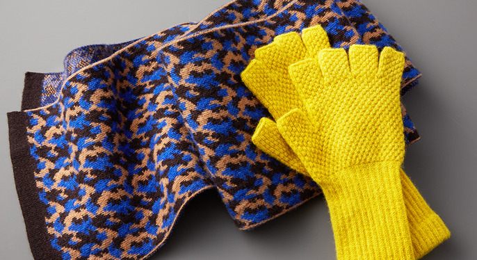 Keep Warm: Wool Accessories Feat. Hikaru Noguchi at Gilt