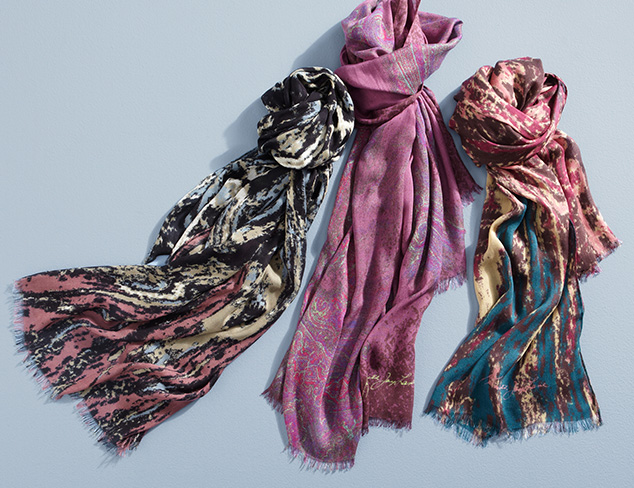 Kenneth Jay Lane Scarves and Watches at MYHABIT