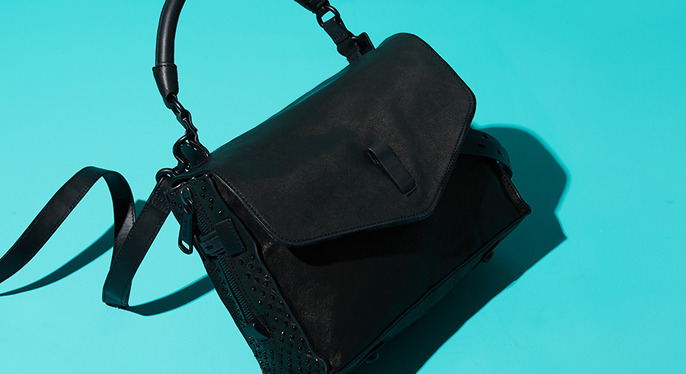 Key Black Handbags at Gilt