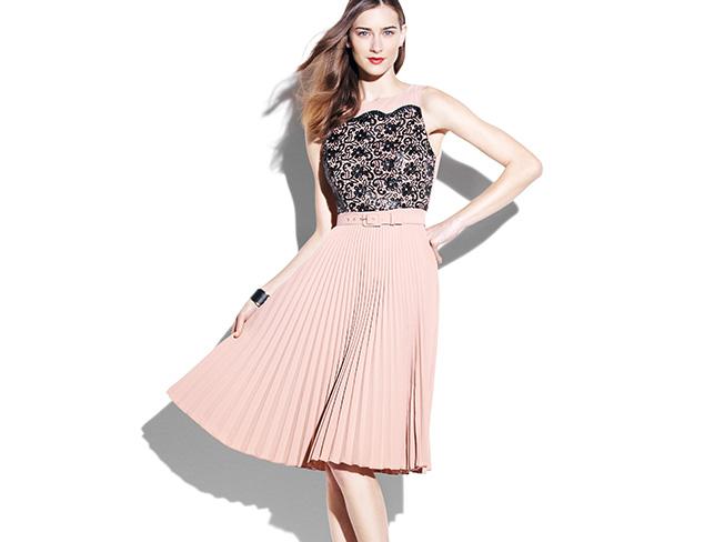 Ladylike Detailing: Dresses & Separates at MYHABIT