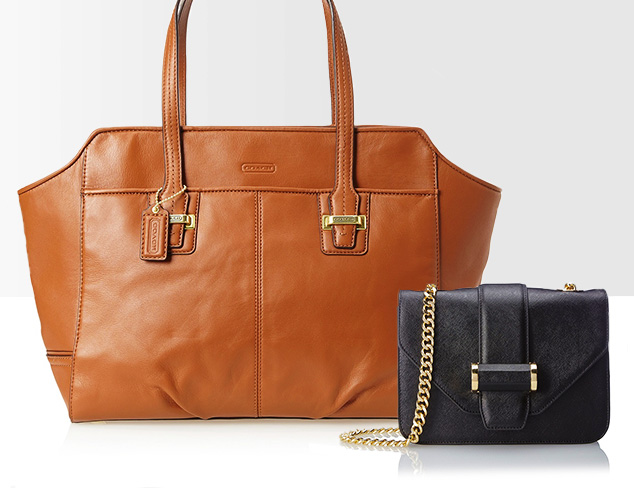 Ladylike Luxe: Leather Handbags at MYHABIT