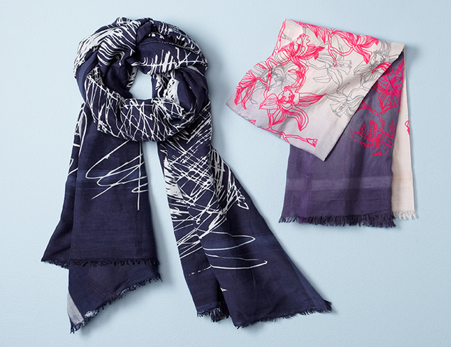 Leigh & Luca Scarves at MYHABIT