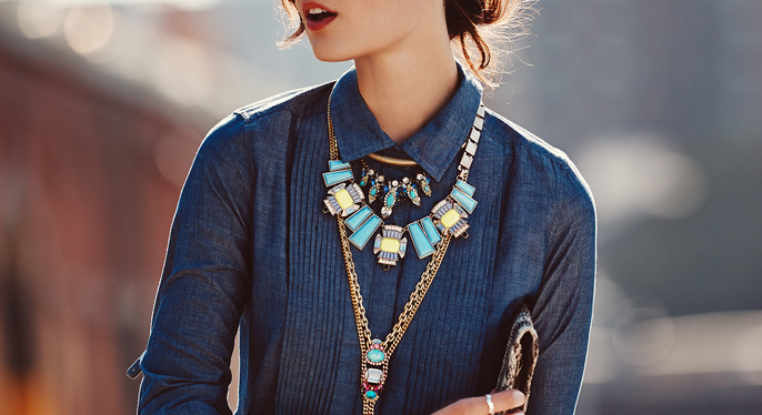 Lessons in Layering: Statement Necklaces at Gilt