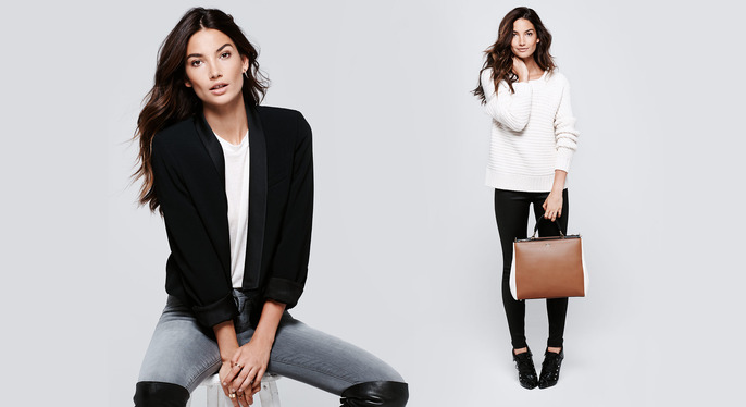 Lily Aldridge's Fall Refresh at Gilt