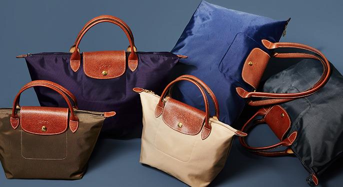 Longchamp Handbags at Gilt