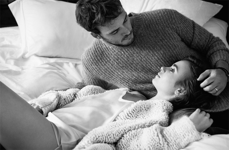 Love Stories Lily Collins and Sam Claflin for The EDIT_3