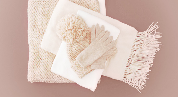 Luxe Cold-Weather Accessories at Gilt