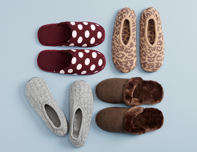 Luxe Comfort: Portolano Slippers at MYHABIT